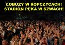 Łobuzy wjeżdżają w Ropczyce – video