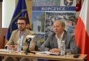 Konferencja prasowa w Gminie Ropczyce