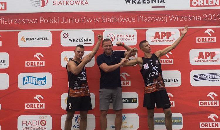 Wnek i Opiela wśród najlepszej 16-nastki w Polsce w siatkówkę plażową!