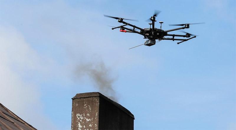 Dron będzie walczył ze smogiem w Gminie Sędziszów