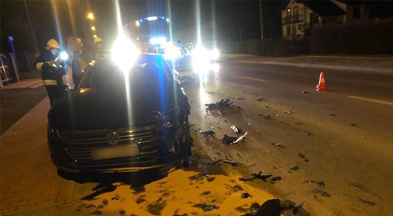 Wypadek w Sędziszowie Młp.