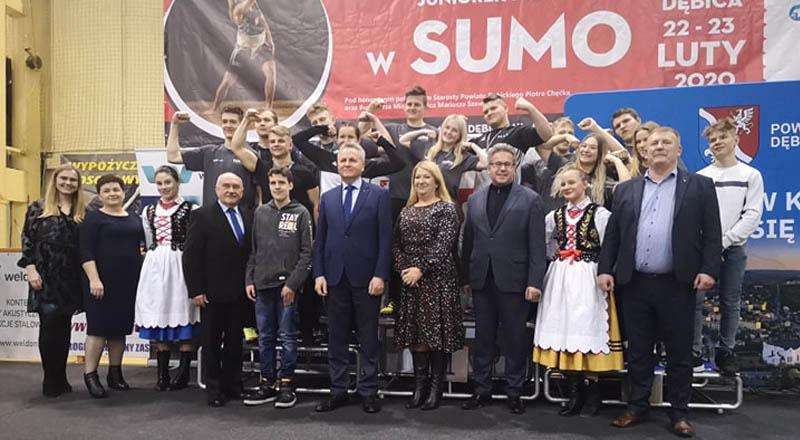Sumocy z LUKS Lubzina zdobyli 15 medali !!!