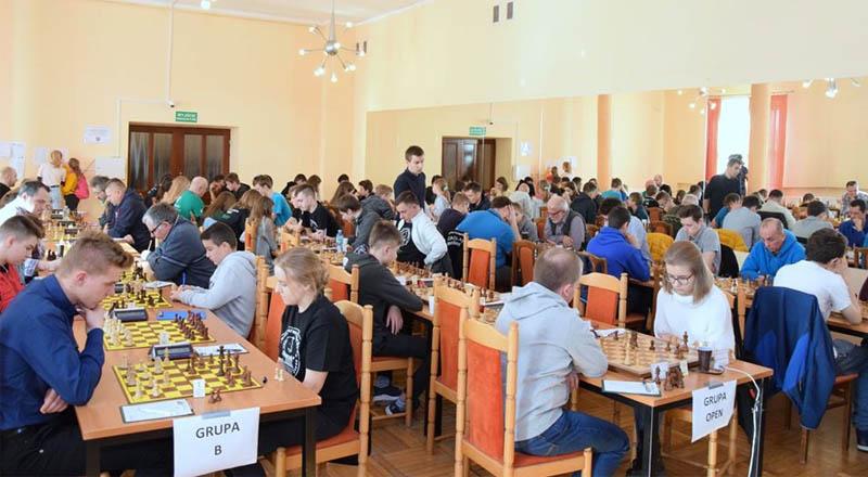 Turniej Szachowy w Sędziszowie Młp.