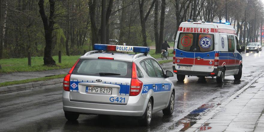 Wczoraj 2 kolizje w Sędziszowie Małopolskim.