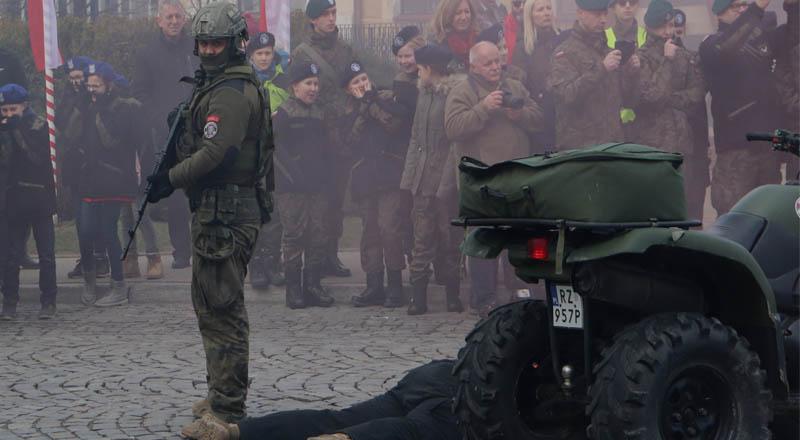 Strzelcy z Sędziszowa Młp. na 101. Rocznica Śmierci płk. Leopolda Lisa-Kuli w Rzeszowie