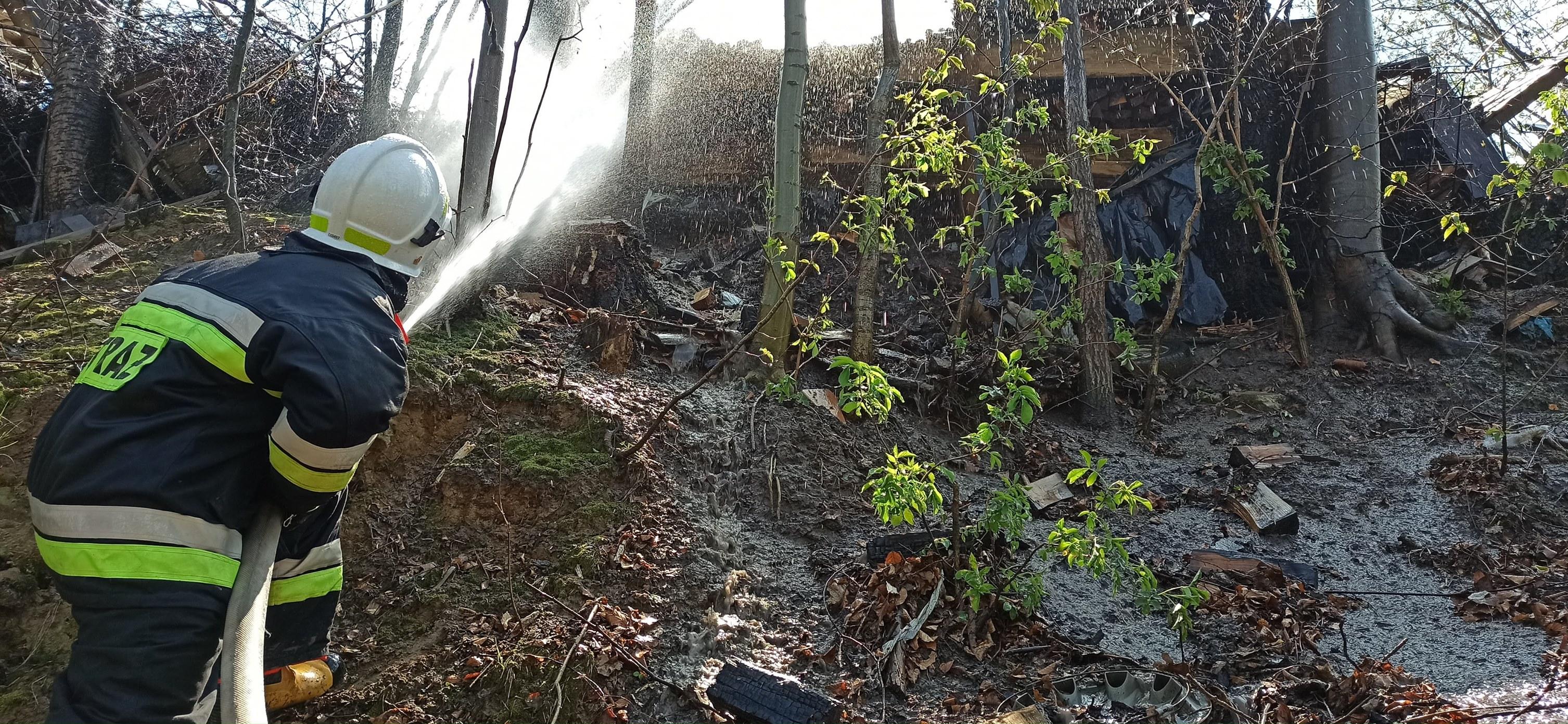 Kolejny pożar w Gnojnicy