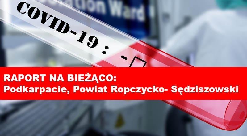 Koronawirus: Podkarpacie i powiat ropczycko-sędziszowski [RAPORT NA BIEŻĄCO]