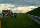 Trzy kolizje na autostradzie A4. Dwie w kierunku Rzeszowa i jedna w kierunku Tarnowa
