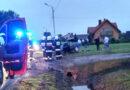 Wypadek w Sędziszowie Młp. 3 osoby w szpitalu