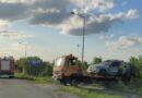Dachowanie na Kolejowej w Ropczycach. Kierowca miał ponad 2 promile!