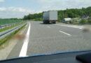 Ciężarówką uderzył w dwie sarny na obwodnicy Ropczyc.