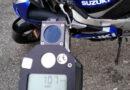 Motocyklem pędził 107 km/h w terenie zabudowanym