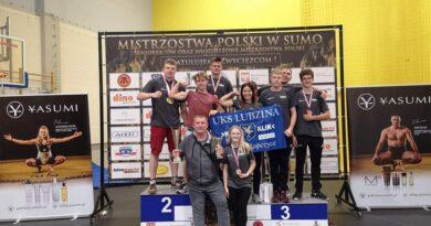 Wrzesień pełen medali dla zawodników SUMO Lubzina