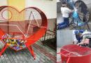 Uczniowie z Ropczyc SAMI zrobili Wielkie Czerwone Serce na nakrętki