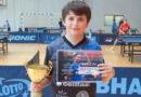 Zawodnik z Ropczyc w Bieszczadach wygrywa GPPM  w tenisie stołowym!