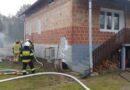 Pożar w kotłowni budynku mieszkalnego w Ociece