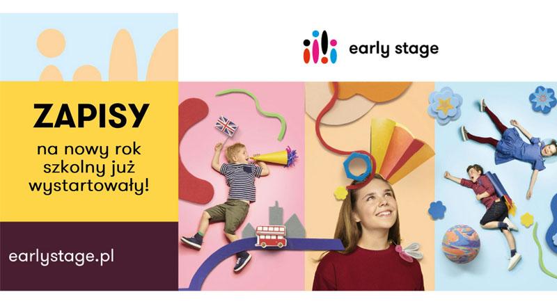 Ruszyły zapisy na nowy rok szkolny 2021/2022 do Szkoły Językowej Early Stage