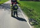 Potrącenie rowerzysty w Sędziszowie Młp.