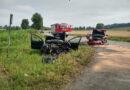 Wypadek w Iwierzycach. Droga zablokowana