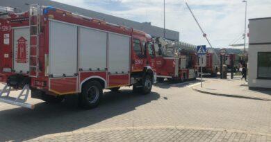 Alarm w fabryce w Sędziszowie Młp. Ewakuowano 95 osób