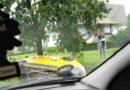 Kurier nie dostosował prędkości do warunków na drodze