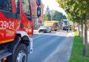 Zderzenie dwóch osobówek w Ropczycach. Droga zablokowana